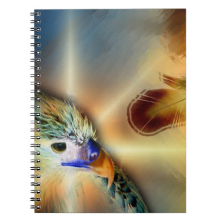 Eagle Song Spiral Note Book