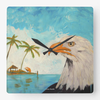 Eagle Square Wall Clock