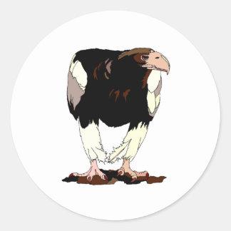 Eagle Round Stickers