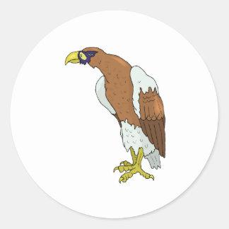 Eagle Round Sticker