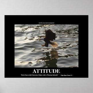 Eagle Successful Attitude Motivational Photo Print