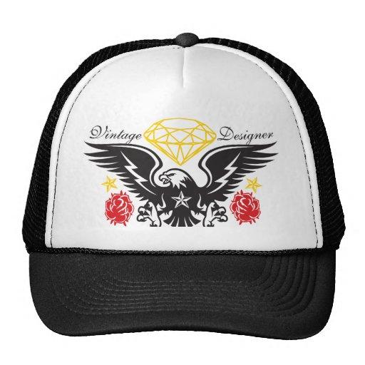 Eagle Tattoo  Diamonds and Roses Vintage Desi Hat