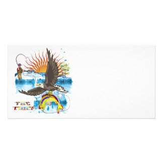 Eagle-Thief-3 Custom Photo Card