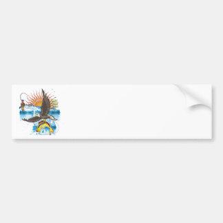 Eagle-Thief-3-No-Text Bumper Stickers