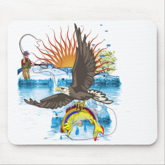 Eagle-Thief-3-No-Text Mouse Pads
