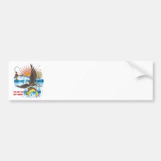 Eagle-Thief-3-Text-2 Bumper Stickers