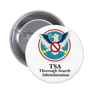 Eagle TSA Funny Cartoon Touch My Junk Pins