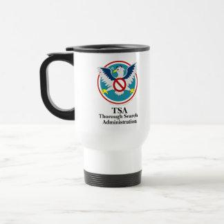 Eagle TSA Funny Cartoon (Touch My Junk) Stainless Steel Travel Mug