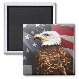 Eagle-USA Square Magnet