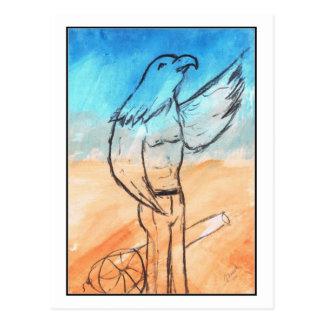 Eagle Warrior Postcard