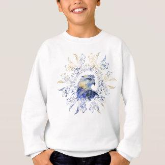 Eagle watercolor illustration sweatshirt