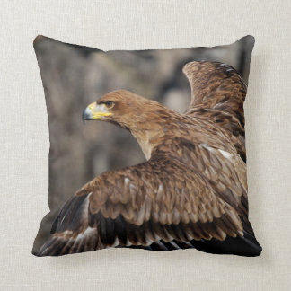 Eagle Wildlife Pillow Photography