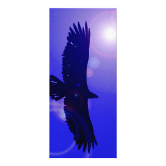 Eagle Wings 10 Cm X 23 Cm Rack Card