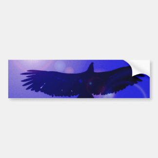 Eagle Wings Bumper Sticker