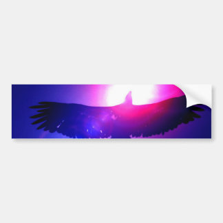 Eagle Wings - Eagle in Flight Bumper Sticker