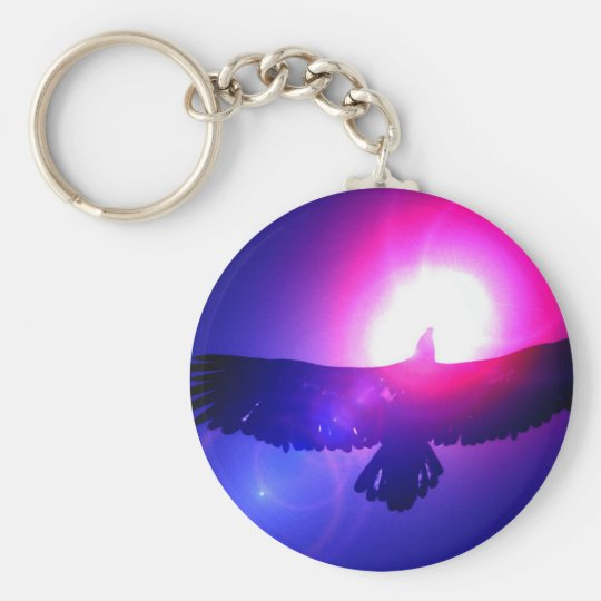 Eagle Wings - Eagle in Flight Key Ring