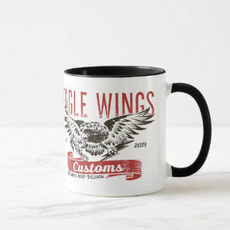 "Eagle Wings mug from ""Lock & Key"""