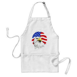 Eagle with Flag Standard Apron