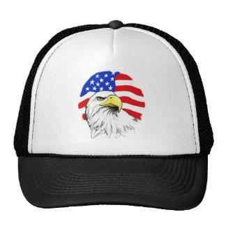 Eagle with Flag Cap