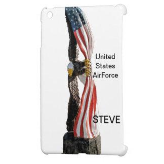 Eagle with flag iPad mini cover