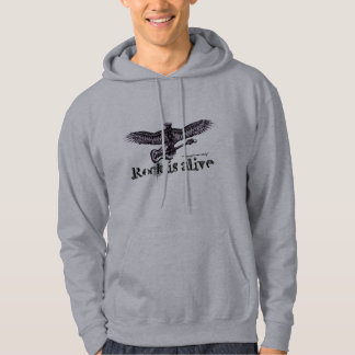 Eagle with guitar shirt