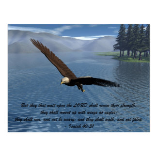 Eagle with Scripture Post Cards