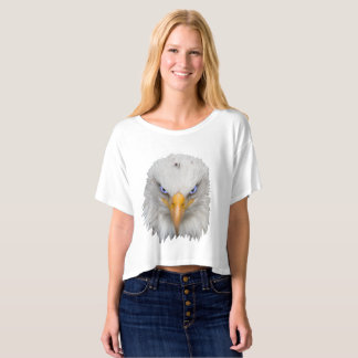 Eagle With Stunning Electric Blue Eyes T-Shirt