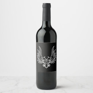 Eagle with two heads wine label