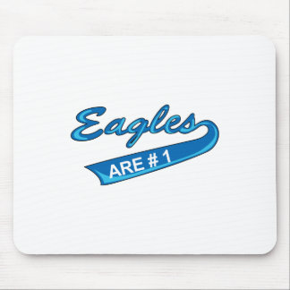 EAGLES ARE NUMBER ONE MOUSE PAD