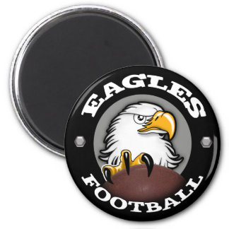 EAGLES FOOTBALL Claw 6 Cm Round Magnet