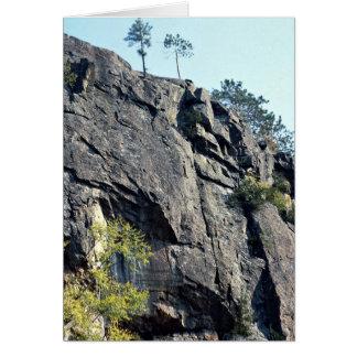 Eagle's nest, Bancroft, Ontario, Canada rock forma Greeting Card