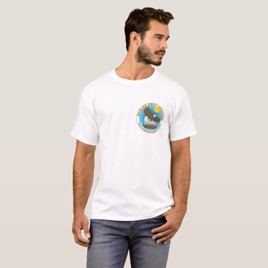 Eagle's Nest T-Shirt with cross on back