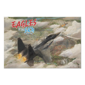 Eagles of the Sky (A3) Poster
