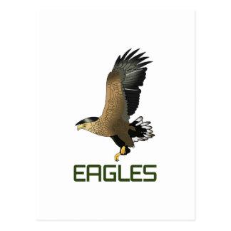 EAGLES POSTCARD