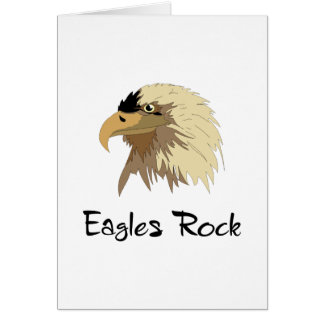 Eagles Rock Greeting Card
