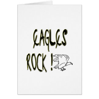 Eagles Rock! Greeting Card