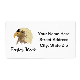 Eagles Rock Shipping Label
