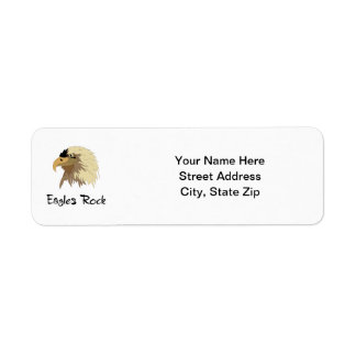 Eagles Rock Return Address Label