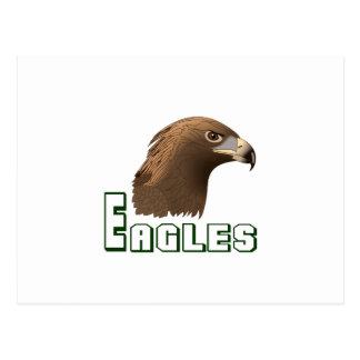EAGLES SPORTS TEAM POSTCARD