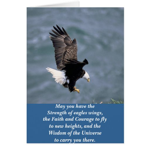 Eagles Strong Greeting Cards