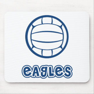 Eagles Volleyball Blue Mouse Mat