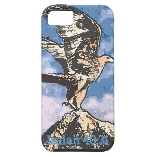 Eagles Wings - Isaiah 40:31 iPhone 5 Cover