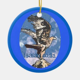 Eagles Wings - Isaiah 40:31 Christmas Tree Ornaments