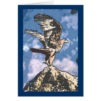 Eagles Wings - Isaiah 40:31 Greeting Card