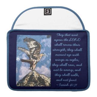 Eagles Wings - Isaiah 40:31 MacBook Pro Sleeve