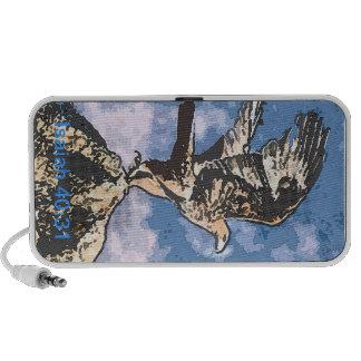 Eagles Wings - Isaiah 40:31 Laptop Speakers
