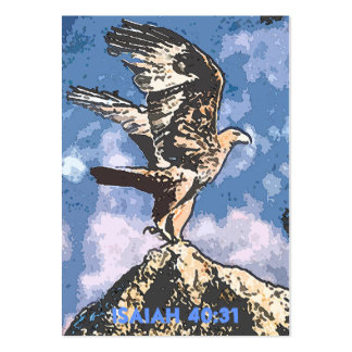 Eagles Wings - Isaiah 40:31 Tract Cards / Business Card Template