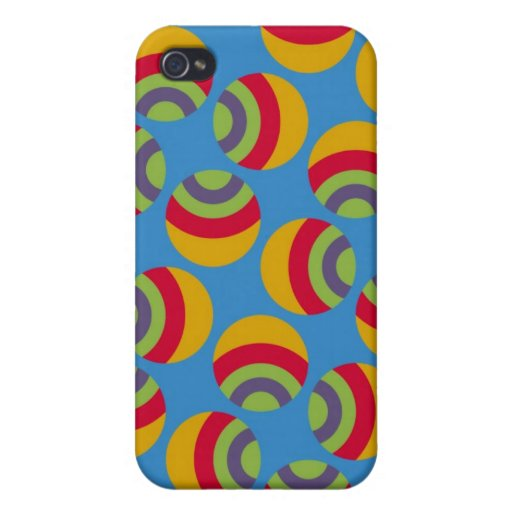 Eames Circles 3 Case For iPhone 4