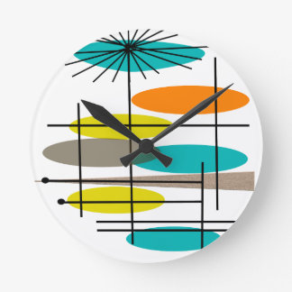 Eames Era Inspired gifts Round Clock