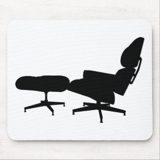 Eames Lounge Chair & Ottoman Mousepads